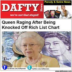 Dafty News Headlines: http://www.daftynews.com/queen-raging-knocked-rich-list-chart/