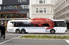 Funny bus ads: Red lobster