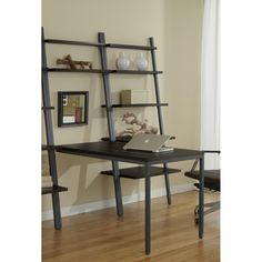 Parsons Bookcase And Desk Functional Versatile Office Furniture For The Home
