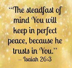 Twitter / DaystarJoni: Think of Jesus & keep your ...