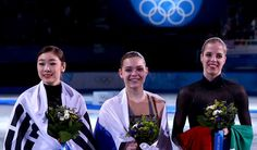Well deserved medal winners.  Very impressive, and the American skaters were awesome too...i loved the reaction of Sotnikova...she smiled all the way thru her skate, too.  And how about the Italians showing up!