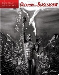 Creature from the Black Lagoon 3D Blu-ray #dvd #bluray #creaturefromtheblacklagoon #horror #steelbook #collector #geek #movies #film #monster