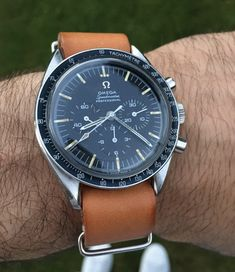 Vintage OMEGA Speedmaster Pro Moonwatch Calibre 321 Circa 1960s - https://omegaforums.net Omega Speedy Speedypro Speedmaster Speedmasterpro Menswear Mensfashion Wristshot Womw Wruw Horology Classic Timeless Watches Watchporn Fashion Style Preppy Montres Uhren Orologio Chrono Chronograph Cal321 Calibre321 Vintage Donbezel