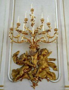 ❤❤❤ Decor, Candle Holders, French Decor, Chandelier Lamp, Chandelier Lighting, Art Decor, Candlesticks, Bronze Chandelier, Beautiful Lighting