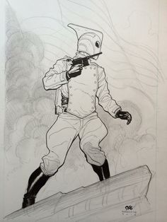 The Rocketeer by Frank Cho *