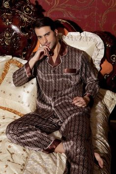 4b1ede7e68 41 Best Mens Silk Pajamas images