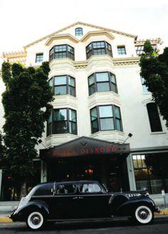 The Hotel Diamond in Chico, CA. So beautiful!