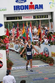 Triathlon. One day I'll be there! :)