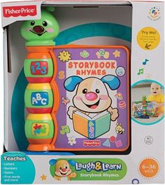 Fisher-Price Laugh  Learn Storybook Rhymes