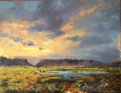 Tanya Jansen Art Landscape Paintings, Landscapes, Different Media, Separate, Boards, Artists, Check, Paisajes, Pull Apart