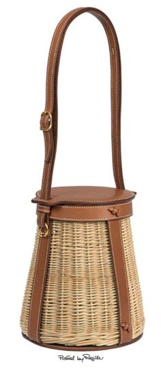 2c8a5e165f Hermes  Farming  bag in Barenia leather and wicker Hermes Bags