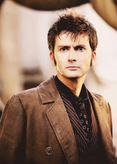 David Tennant, the tenth (eleventh?) Doctor.  One of my two favorites.