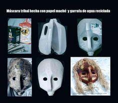 Pai Pai Detalhes: Máscaras Garrafas de água