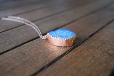 Druzy Pendant Necklace in Copper - Quartz Crystals - Shop handmade boho and Earth-inspired jewelry by ColbieGirl Jewelry, on Etsy! https://www.etsy.com/shop/ColbieGirlJewelry -------- Crystal Necklaces, Crystal Jewelry, Raw Crystal, Healing Crystals, Handmade Jewelry, Electroformed Jewelry, Copper Jewelry, Boho Jewelry, Boho Fashion