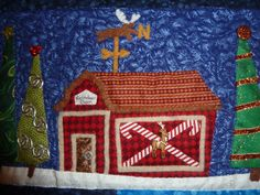 Customer Image Gallery for Welcome to the North Pole: Santa's Village in Applique
