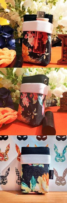 [ITTEM] romantic punk cotton cigarette born flower case women's item multi-color / for smokers / smoking