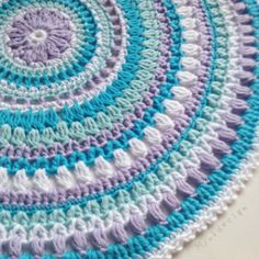 Free pattern for Viola Mandala ~free crochet patterns~