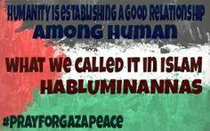 Humanity in gaza..