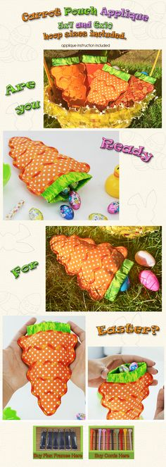 CARROT POUCH Embroidery Designs Free Embroidery Design Patterns Applique