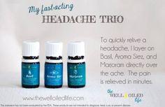 Young living headache roller bottle recipe
