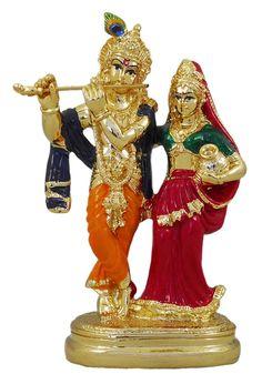 Gold 8 X 4X 2.50 Inch Bag Brass Lord Vishnu Riding on Garuda Statue