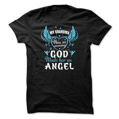 MY GRANDMA WAS SO AMAZING GOD MADE HER AN ANGEL