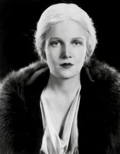 Ann Harding, 1932 | Flickr by PeterJAussie Tumblr