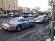 Porsche 911 policia