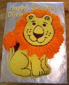 Résultat d'images pour lion cake Lion Birthday Party, Lion Party, Birthday Themes For Boys, Adult Birthday Cakes, 9th Birthday Parties, 1st Boy Birthday, Birthday Ideas, Lion Cakes, Dinosaur Cake