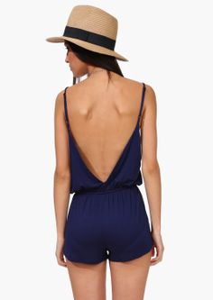 Nite Brite Romper. I usually don't like rompers, but I do like the fitting of this one