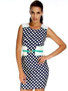 KATY POLKA DOT DRESS Dot Dress, Affordable Fashion, Polka Dots, Chic, Shopping, Dresses, Women, Style, Shabby Chic