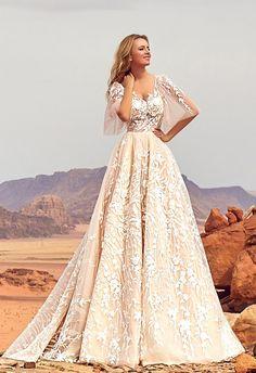 Oksana Mukha Wedding Dresses 2018 Jadice / http://www.deerpearlflowers.com/oksana-mukha-wedding-dresses-2018/