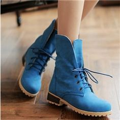 Sweet Korean Preppy Style Ankle Boots