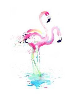 Art Print: Flamingo by okalinichenko : 24x18in