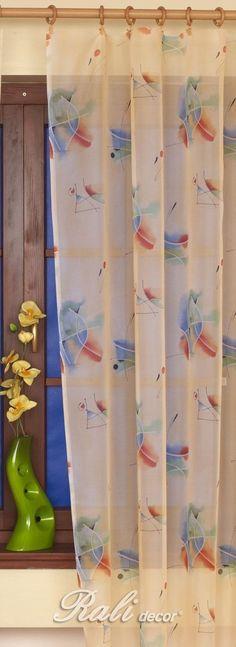 Barvy, voál šíře 150cm metráž - RALI Decor, s.r.o. - bytový textil, záclony a povlečení