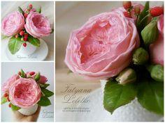 Роза пионовидная, английская роза..