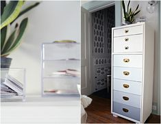A Storied Style: Home Office / Guest Room Makeover Part 2 - The Reveal! by IHeart Organizing