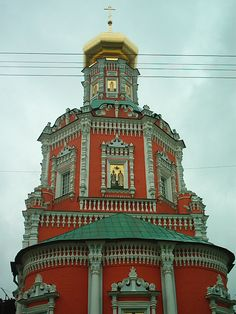 So much of the architecture in Moscow fascinated me.  None more than the many churches; some in use and some in disrepair.  I loved the orange ones the most.  This one is in the Kitay Gorod district to the east of Red Square.