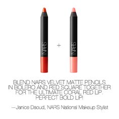 Click here to find out more about our Velvet Matte Lip Pencils: www.narscosmetics...#Repin By:Pinterest++ for iPad#