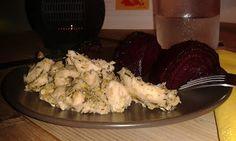 Egy szeretet etető kalandozásai Gasztronómiában: Citromos-kakukkfüves csirkemell csíkok sült céklával (paleo)