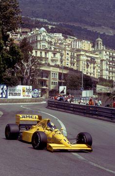 Derek Warwick, Camel Team Lotus,1990 Monaco Grand Prix
