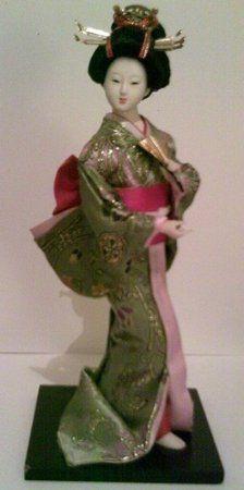 Japanese GEISHA Oriental Doll