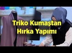 Triko Kumaştan Hırka Yapımı | Nebihan Akça - YouTube