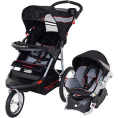 Baby Trend - Jogger Baby Travel System, Millennium - may be too upright for infant