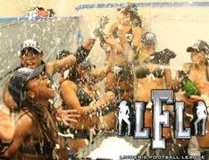 LA Celebrates their 3rd LFL LingerieBowl Championship 2011-12