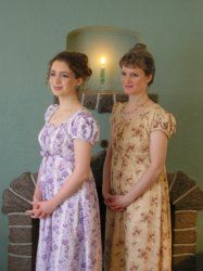 Mother-Daughter Regency Gowns | Sense & Sensibility Patterns