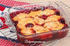 Too-Easy Cherry Cobbler