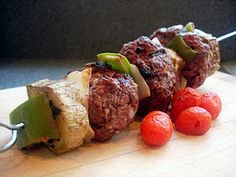 Hamburger Skewers for Picky Pickers   Drick's Rambling Cafe