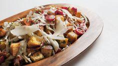 Panzanella au saucisson, fenouil et tomates   Zeste