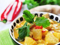 Poulet coco ananas